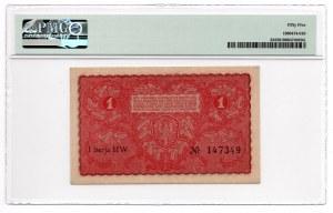 1 Marka 1919 - I Serja HW - PMG 55