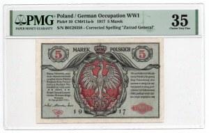 5 Marek 1916 - B - PMG 35