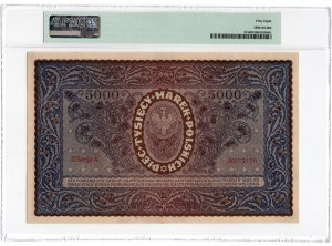 5.000 marek polskich 1920 - II Serja A - PMG 58