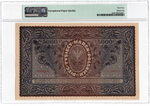 5.000 marek polskich 1920 - III Serja A - PMG 64 EPQ