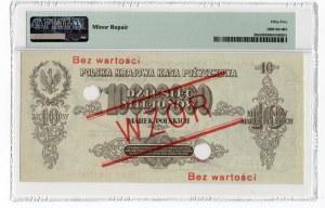 WZÓR - 10.000.000 marek polskich 1923 - seria C - PMG 55