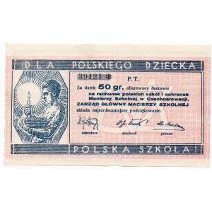 Za datek 50 groszy dla polskiego dziecka - Polska Szkoła
