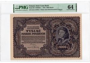 1.000 marek polskich 1919 - III Serja AA - PMG 64