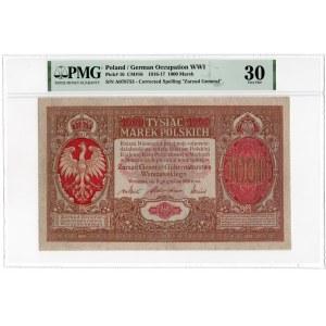 1000 marek polskich 1916 - Generał - PMG 30
