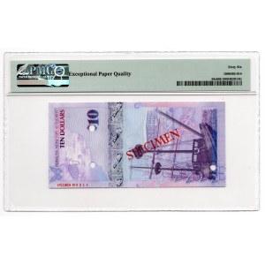 Bermuda - Specimen - 10 dolarów 2009 - PMG 66 EPQ