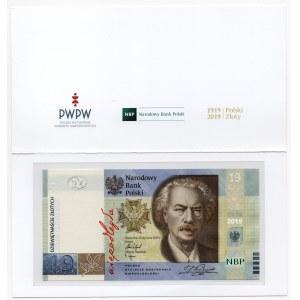 19 złotych 2019 - 100-lecie powstania PWPW