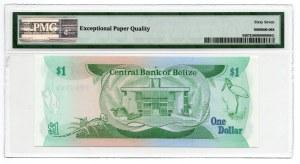 Belize - 1 Dolar 1983 - PMG 67 EPQ