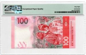 Hong Kong - 100 Dolarów 2018 - PMG 68 EPQ