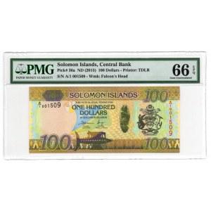 Wyspy Salamona - 100 dolarów - PMG 66 EPQ