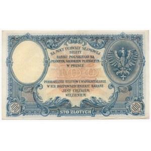 100 złotych 1919 - Seria S.B.