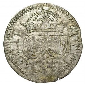 Zygmunt III Waza (1587-1632) - Szeląg 1614 Wilno – hybrydowy - RZADKI - Kolekcja Górecki