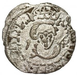 Zygmunt III Waza (1587-1632) - Szeląg 1614 Wilno – Sztypel Bardzo rzadki - Kolekcja Górecki