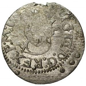 Zygmunt III Waza (1587-1632) - Szeląg 1615 Wilno - Kolekcja Górecki