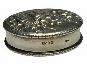 Szwecja - Srebrne pudełeczko - Ag 830