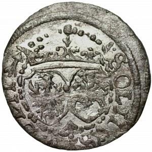 Zygmunt III Waza (1587-1632) - Szeląg 1617 Wilno - SIG . G . III - Kolekcja Górecki