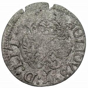 Zygmunt III Waza (1587-1632) - Szeląg 1617 – ozdobne tarcze, Wilno - Kolekcja Górecki