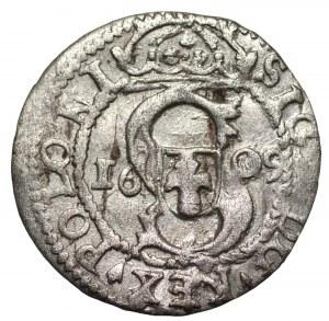 Zygmunt III Waza (1587-1632) - Szeląg 1609 data w polu - Kolekcja Górecki