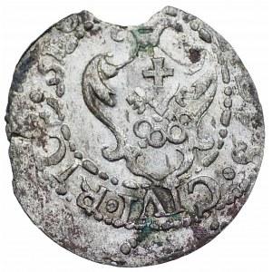 Zygmunt III Waza (1587-1632) - Szeląg 1610 Ryga (RICE) - Kolekcja Górecki