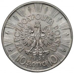II RP - 10 złotych 1937 - Józef Piłsudski