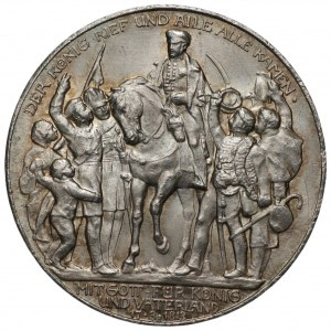 NIEMCY - Wilhelm II - 2 marki 1913 - 100-lecie Bitwy Narodów (Bitwy pod Lipskiem)