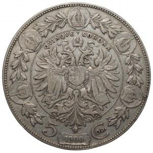 AUSTRIA - Franciszek Józef I - 5 koron 1900