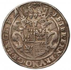 NIEMCY - Mansfeld - Peterernst, Bruno, Gebhard i Johann Georg - 1 talar 1599