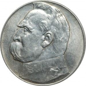 II RP - 10 złotych 1936 - Józef Piłsudski - PCG MS 68