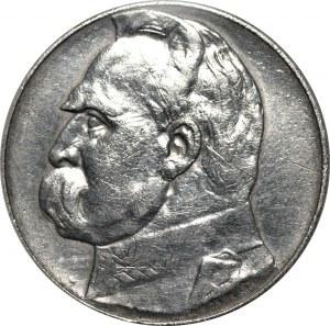 II RP - 10 złotych 1934 - Józef Piłsudski - PCG MS 68