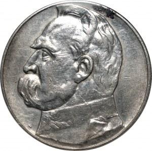II RP - 10 złotych 1935 - Józef Piłsudski - PCG MS 68
