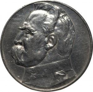 II RP - 10 złotych 1937 - Józef Piłsudski - PCG MS 68