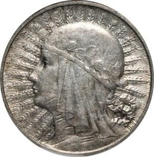 II RP - 2 złote 1933 - Głowa kobiety - PCG MS68