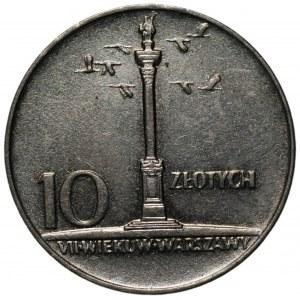 PRL - 10 złotych 1966 - Mała Kolumna