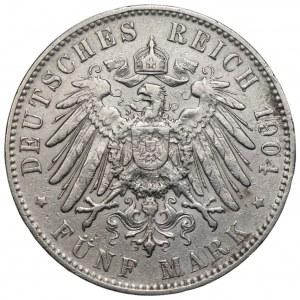 NIEMCY - 5 Marek 1904 (J) Hamburg