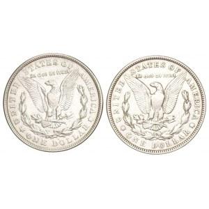 USA - 2 x 1 dolar 1921 - Morgan