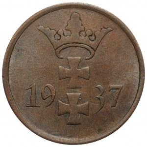 Wolne Miasto Gdańsk - 1 fenig 1937