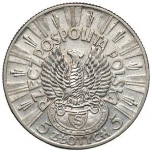 II RP - 5 złotych 1934 - Piłsudski Orzeł Strzelecki