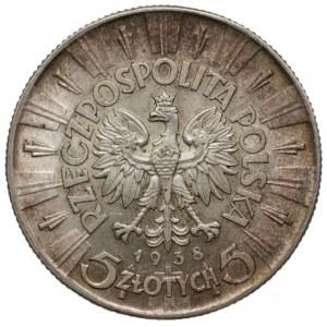 II RP - 5 złotych 1938 - Józef Piłsudski