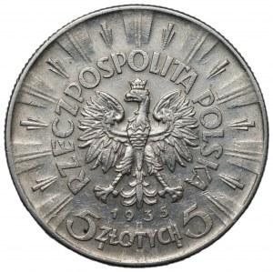 II RP - 5 złotych 1935 - Józef Piłsudski
