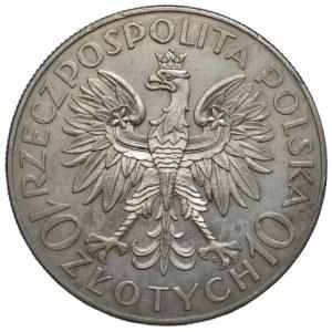 II RP - 10 złotych 1933 - Romuald Traugutt