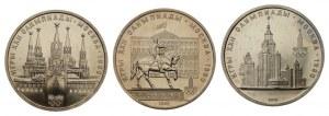 ZSRR - Olimpiada w Moskwie - zestaw 6 sztuk monet 1 rublowych