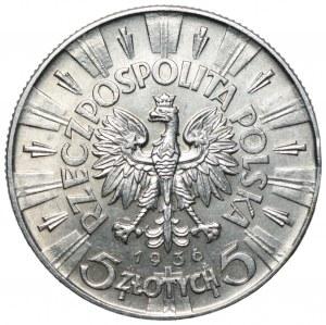 II RP - 5 złotych 1936 - Józef Piłsudski