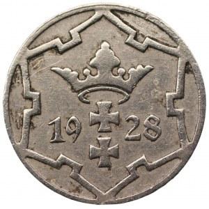 Wolne Miasto Gdańsk - 5 fenigów 1928