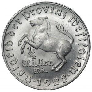 NIEMCY - Westfalia - 1/4 miliona 1923