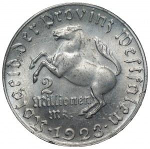 NIEMCY - Westfalia - 2 miliony marek 1923