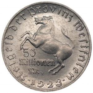 NIEMCY Westfalia - 50 milionów marek 1923