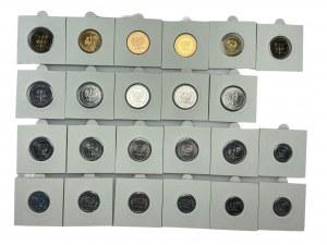 PRL - Zestaw 23 monet - 1980 - 1988
