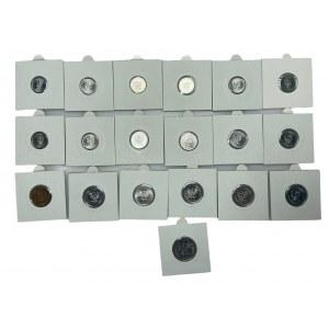 PRL - zestaw 19 monet - 1949 - 1980