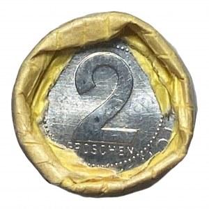 AUSTRIA - Rolka bankowa 50 x 2 Groschen 1981