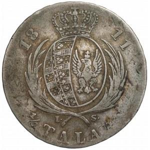 Księstwo Warszawskie - 1/3 talara 1811 IS