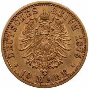 NIEMCY - Wilhelm - 10 marek 1875 - (A) Berlin
